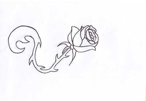download simple rose tattoo drawing danielhuscroft com