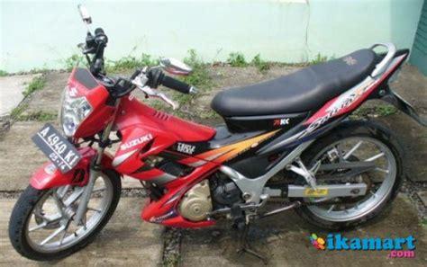Spakbor Satria Fu Cbu jual suzuki satria fu 2005 cbu thailand mulus motor