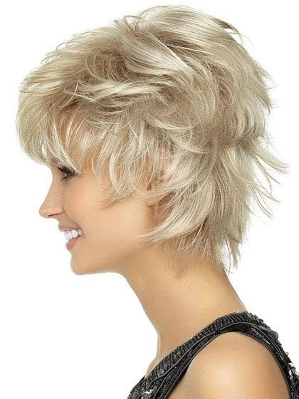 spiked short lace front wigs playful short shag lightweight spiky cut wig lace front