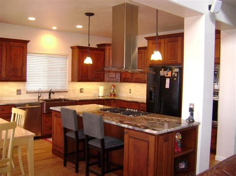 center island with stove top and seating gutted kitchen kitchen extractor fan marvellous island vent hoods for