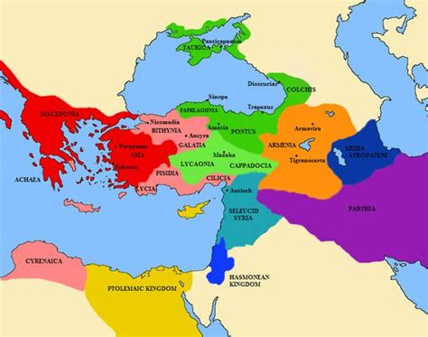 middle east map greece a map of the middle east greece and asia minor showing