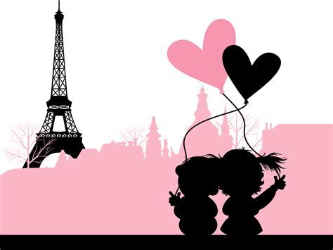 0008100594 when in french love love in paris france backgrounds love travel templates