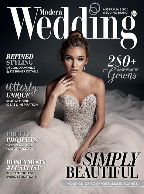 wedding magazine modern wedding winter 2015 edition on sale plus bonus content