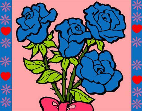 imagenes de rosas azules para dibujar rosas az 250 les para dibujar imagui