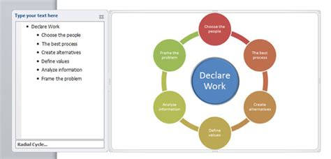 how to create diagrams in powerpoint for decision making
