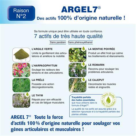 Argel 7 Gel Nature Avignon laboratoire avignon argel 7