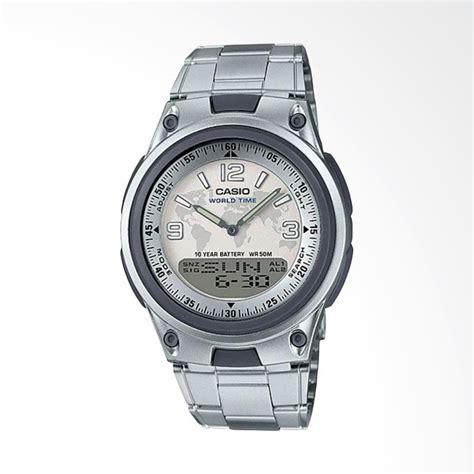 Jam Tangan Stainless Steel Silver Ltp1241d 7 Casio Ori Garansi jual casio analog digital stainless steel jam tangan