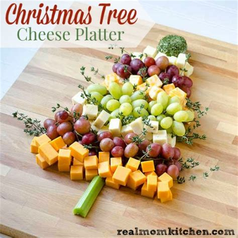 christmas appetizer tree board tree cheese platter real kitchen