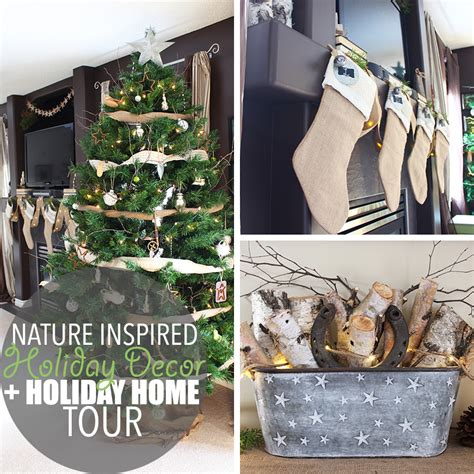 nature inspired home decor nature inspired holiday decor nature inspired holiday