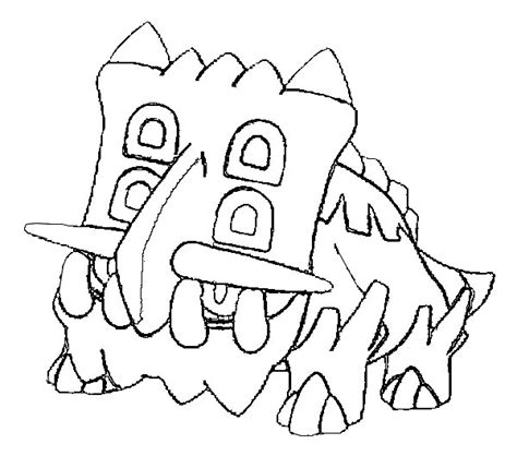 morning kids net coloring pages pokemon coloring pages pokemon bastiodon drawings pokemon