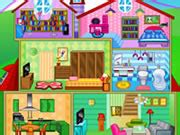 online doll house games play doll house decorating online girl games net
