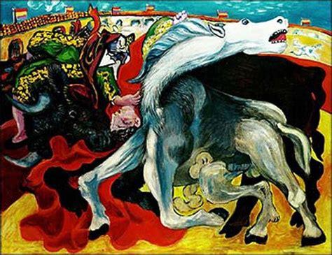 picasso paintings bullfight pablo picasso bullfight of the toreador la corrida