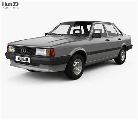 Audi 80 B 2 by Audi 80 B2 1985 3d Model Hum3d