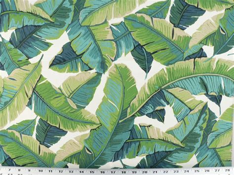 tropical drapery fabric drapery upholstery fabric indoor outdoor tropical leaves