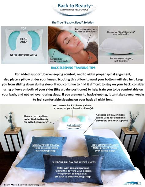 Wrinkle Prevention Pillow by Yourself To Sleep On Your Back Isn T Easy Back