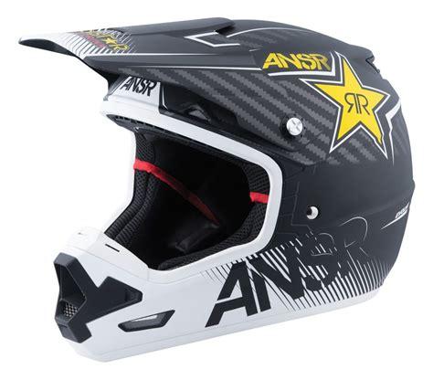 rockstar motocross helmets answer evolve 3 rockstar helmet revzilla