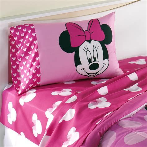 minnie mouse bedding full disney minnie mouse sheet set