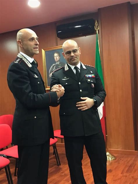 ministero dell interno divisione cittadinanza cambio alla guida dei carabinieri di cosenza