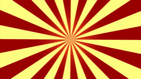 Stripe Pop sunburst in and yellow vintage style stock footage