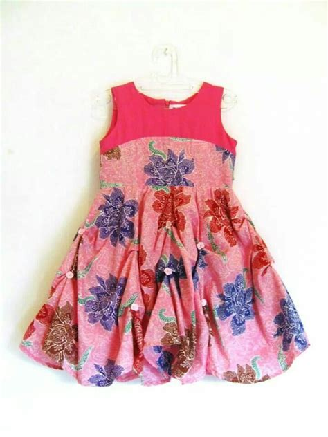Anya Flower Pink Semi Baby Dress Baju Anak F0623 princess in pink baju anak princess
