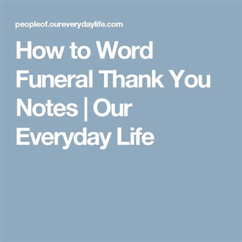 thank you letter to a dying friend 25 unique funeral thank you notes ideas on