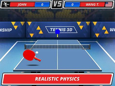 Table Tennis Chionship by Table Tennis 3d Chionship Iphone Free