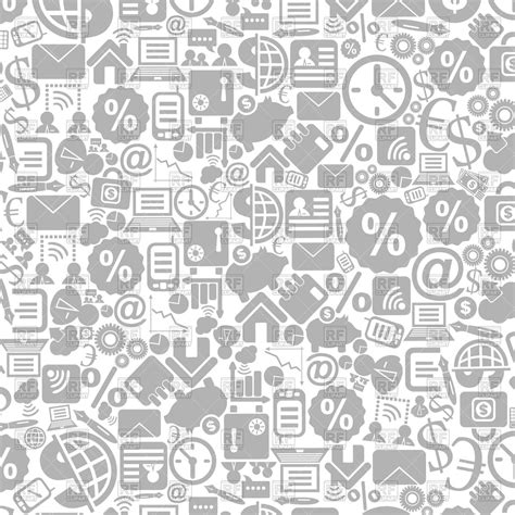 layout vector icons background made of business theme icons vector clipart