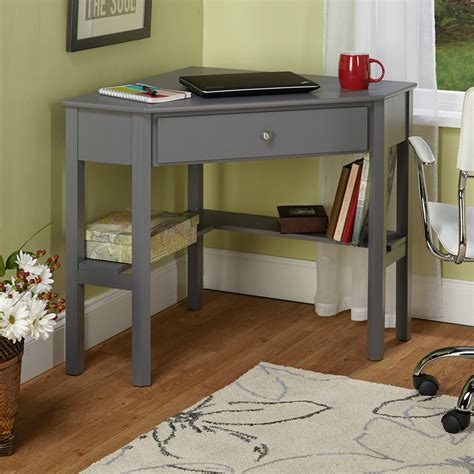 Ten Space Saving Desks That Work Great In Small Living Gray Corner Desk