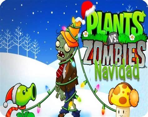 imagenes de plantas vs zombies navidad plants vs zombies version navidad descargar y compartir