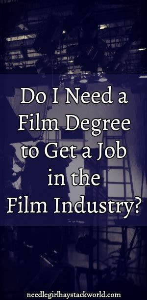 Do You Need A Degree To Do An Mba by Do I Need A Degree To Get A In The Industry