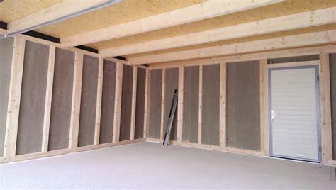 Garage Innen Verkleiden by Holzst 228 Nderbauweise Fink Garage Part 3