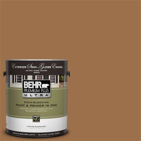 behr premium plus ultra 1 gal ul150 17 olympic bronze