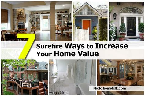 7 surefire ways to increase your home value