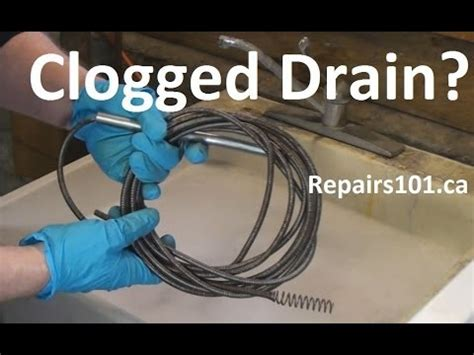 Diy Plumbing Snake by Clogged Drain