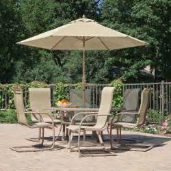 Outdoor Patio Set With Umbrella Furniture Design Ideas Stylish Patio Furniture With