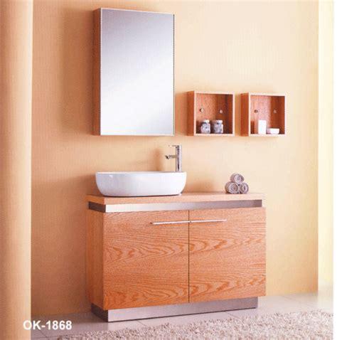 2011 modern solid wood bathroom cabinet vanity ok1868