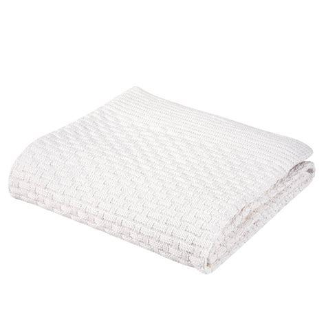 Cotton Crib Blanket by Baby Basketweave Sweater Cotton Knit Stroller