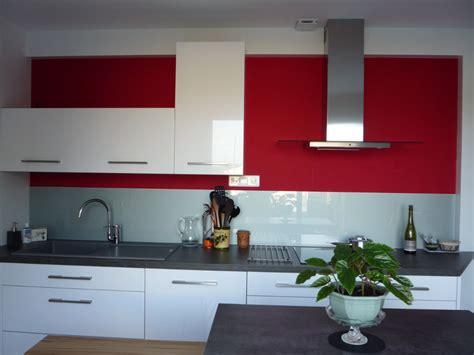 Bien Cuisine Rouge Et Blanc Photos #1: photo-decoration-cuisine-rouge-blanc-9.jpg