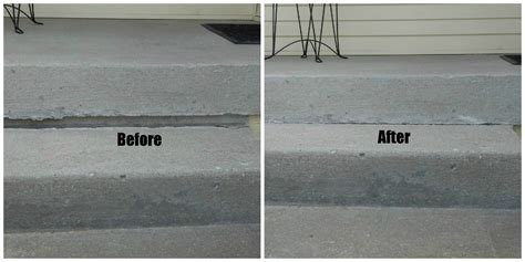 how to fix a sinking front porch concrete patio porch repair mudjacking foam