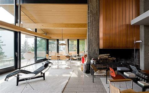 Mid Century Modern Interiors Rentsch House By Richard Neutra Captured By Iwan Baan Plastolux