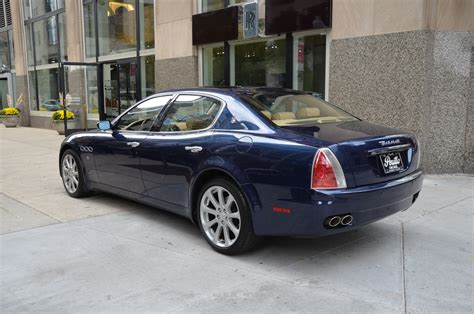 maserati quattroporte 2006 for 2006 maserati quattroporte stock 21669 for sale near