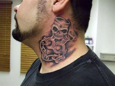 tattoo on neck pics 69 innovative neck tattoos for men