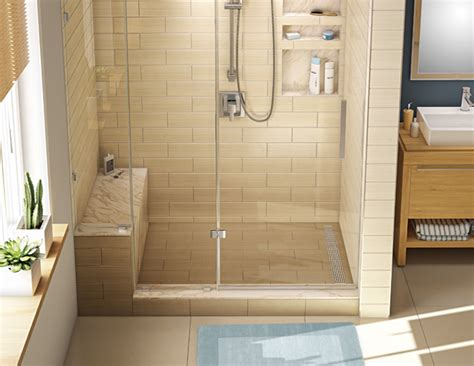 Walk In Shower Kits With Seat by Showers Interesting Walk In Shower Kits With Seat Walk In