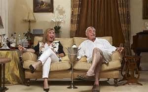 gogglebox posh couple fell off sofa posh sloshed and back on the gogglebox forget the