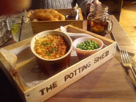 The Bed Shed Edinburgh by The Potting Shed Edinburgh Restaurant Reviews Phone