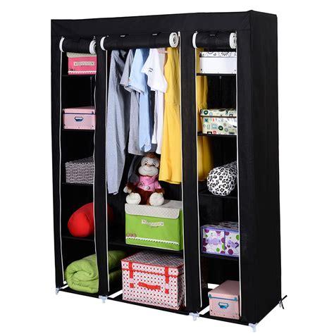 Wardrobe Closet Organizer Portable Closet Storage Organizer Wardrobe Clothes Rack