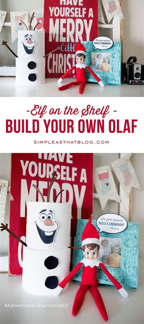 On The Shelf Make Your Own by On The Shelf Build Your Own Olaf Toilets