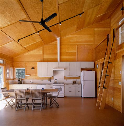 plywood interior design how do the plywood walls hold up