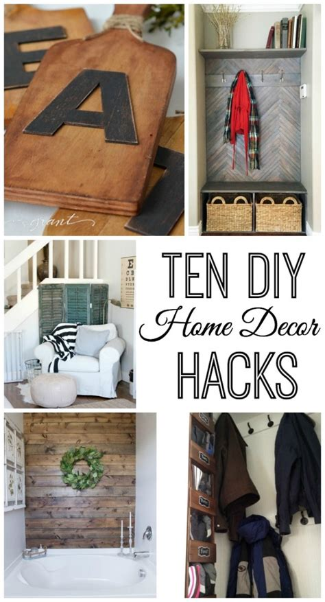 10 do it yourself home decor hacks home stories a to z