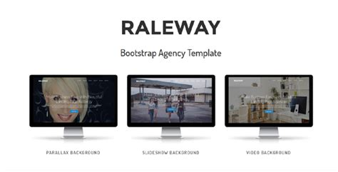 themes bootstrap agency raleway bootstrap agency template by themes mountain